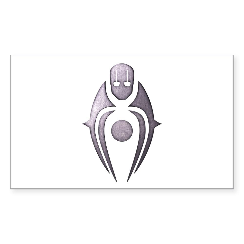 MKX Faction Brotherhood of Shadow Rectangle Sticker