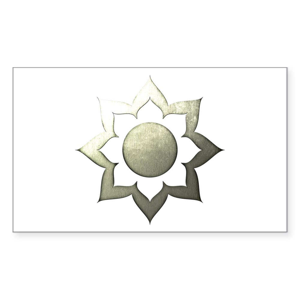 MKX Faction White Lotus Rectangle Sticker