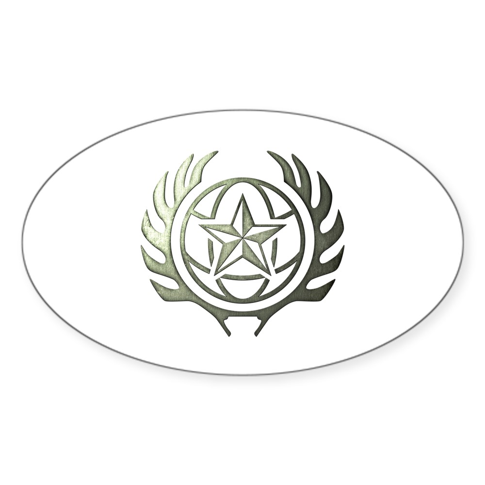 MKX Faction Special Forces Oval Sticker