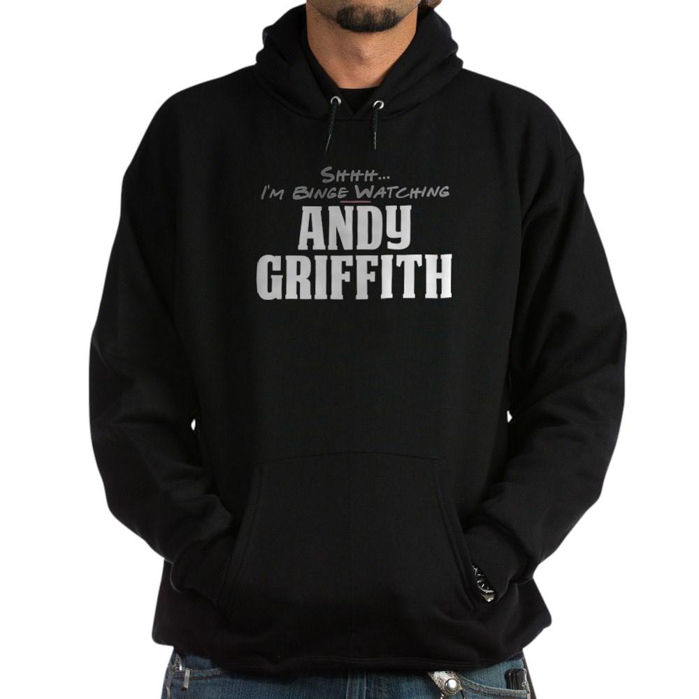 Shhh... I'm Binge Watching Andy Griffith Dark Hoodie