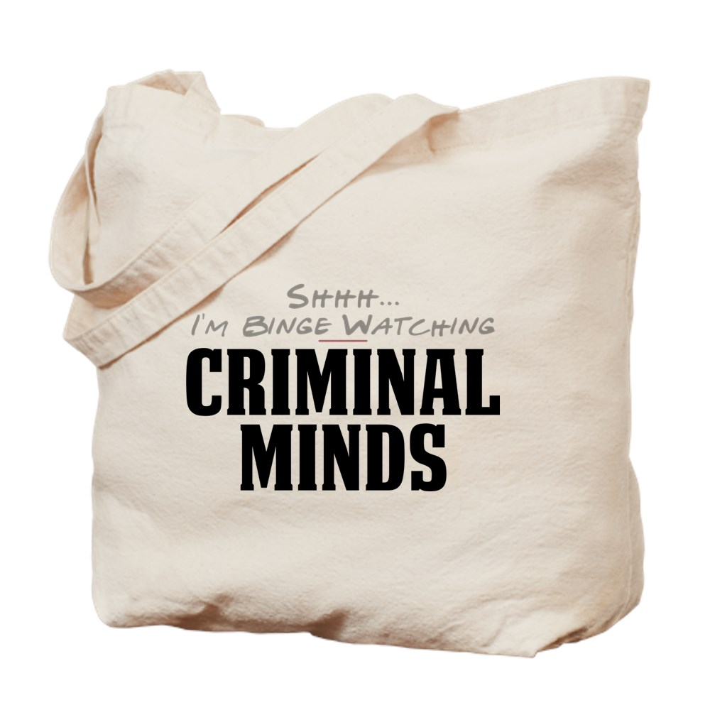 Shhh... I'm Binge Watching Criminal Minds Tote Bag