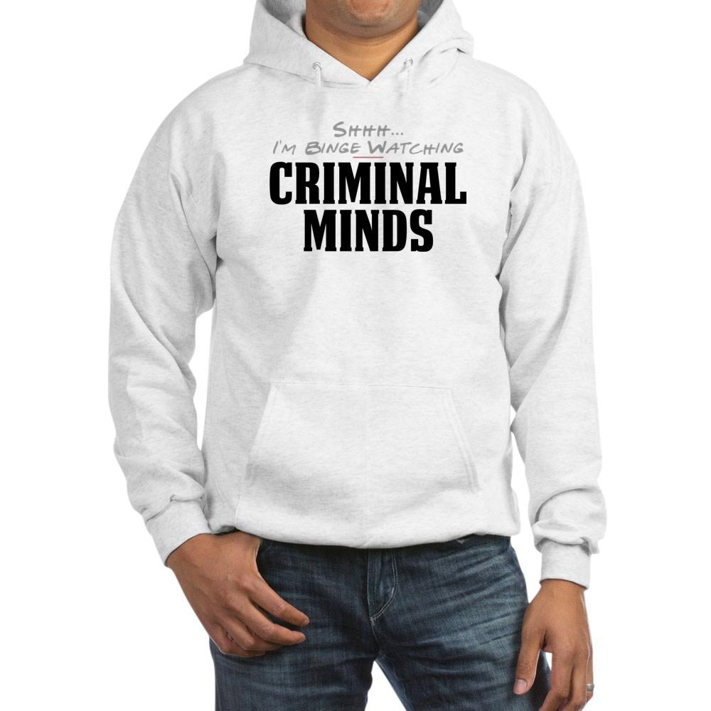 Shhh... I'm Binge Watching Criminal Minds Hooded Sweatshirt