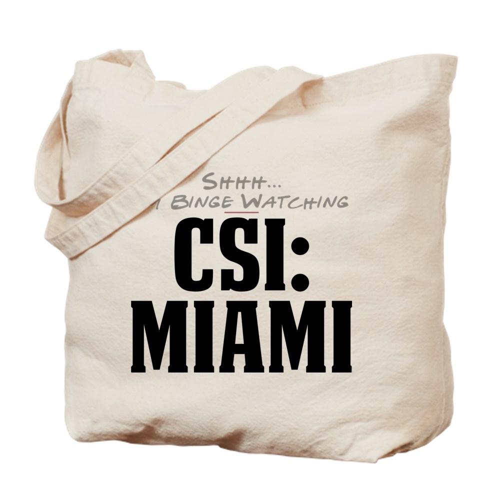 Shhh... I'm Binge Watching CSI: Miami Tote Bag