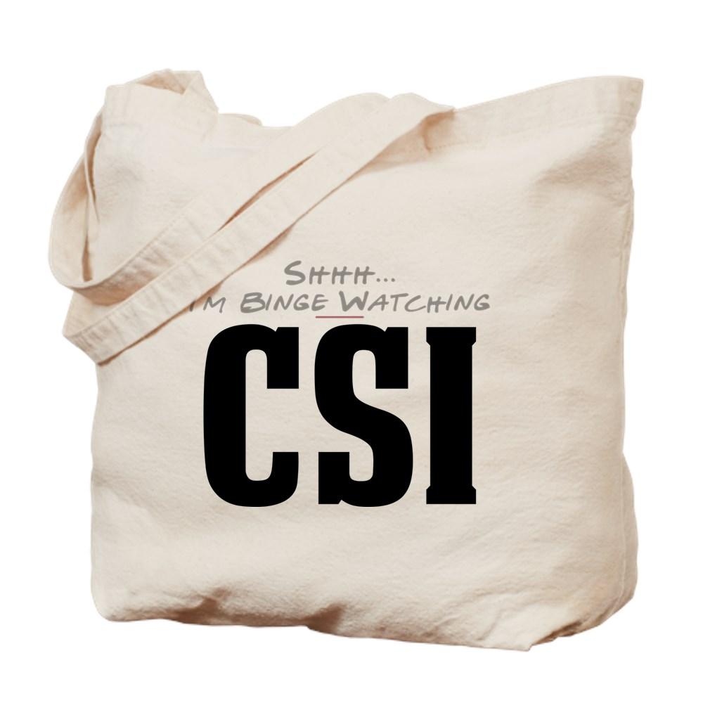 Shhh... I'm Binge Watching CSI Tote Bag