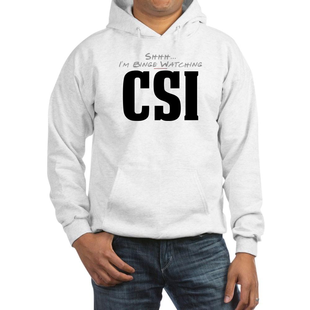 Shhh... I'm Binge Watching CSI Hooded Sweatshirt