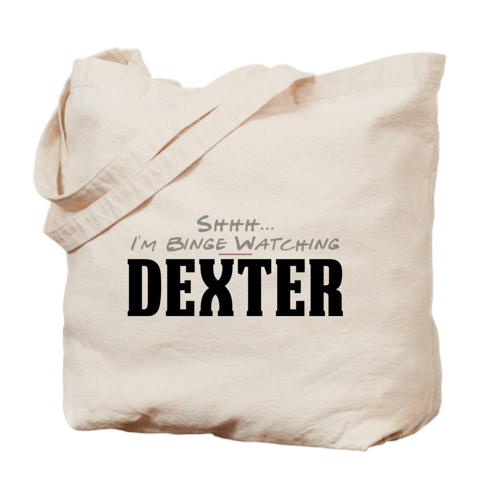 Shhh... I'm Binge Watching Dexter Tote Bag