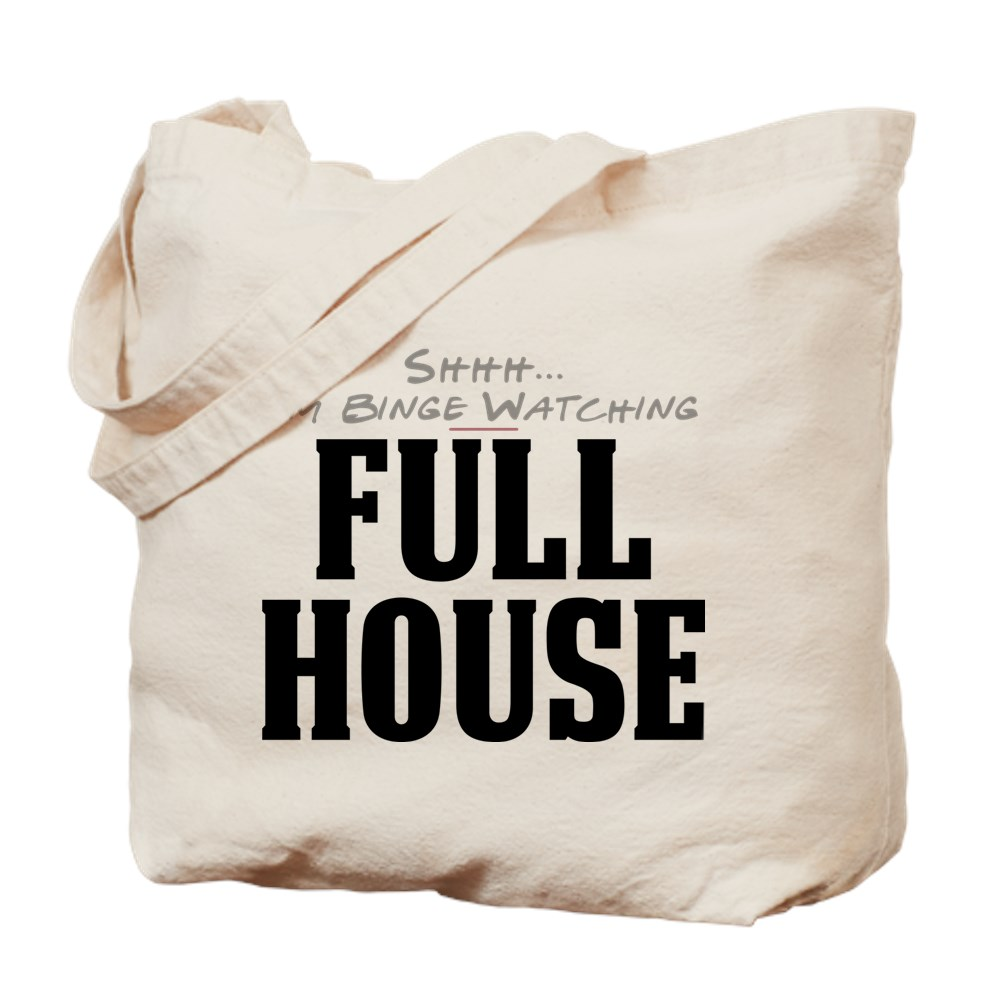 Shhh... I'm Binge Watching Full House Tote Bag