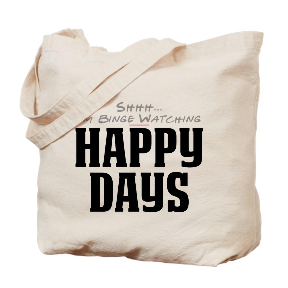 Shhh... I'm Binge Watching Happy Days Tote Bag