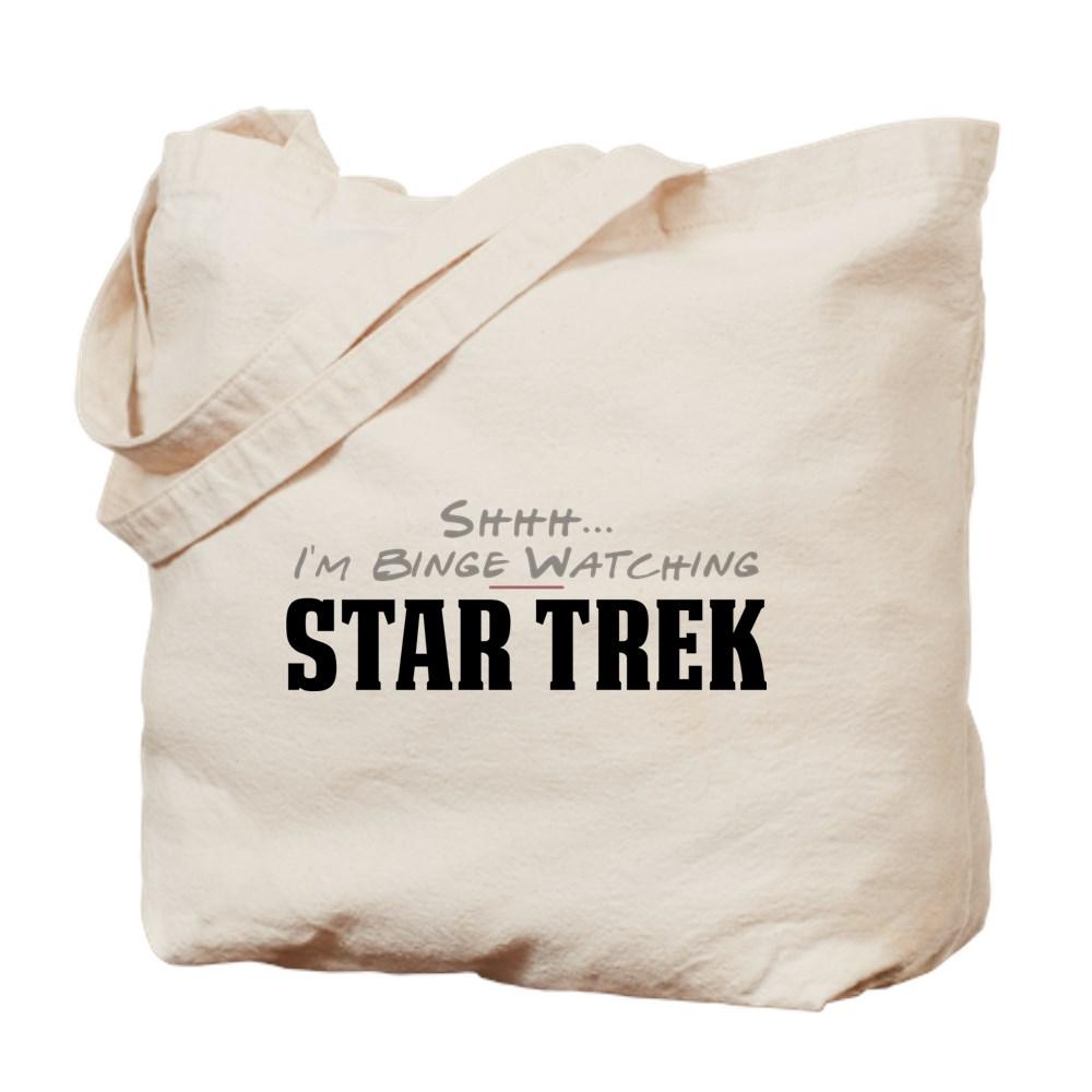 Shhh... I'm Binge Watching Star Trek Tote Bag