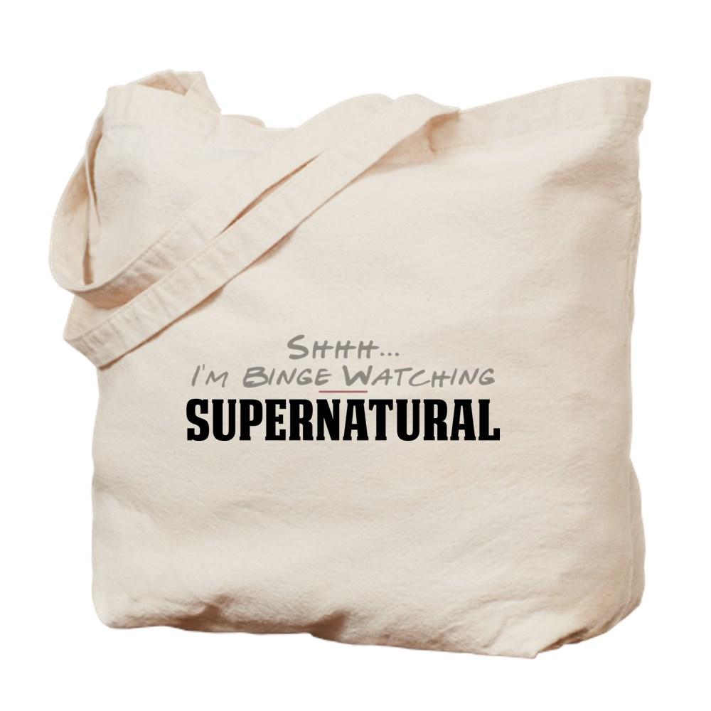 Shhh... I'm Binge Watching Supernatural Tote Bag