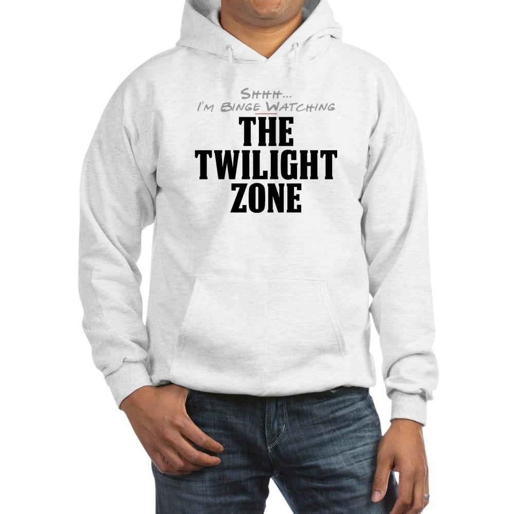 Shhh... I'm Binge Watching The Twilight Zone Hooded Sweatshirt
