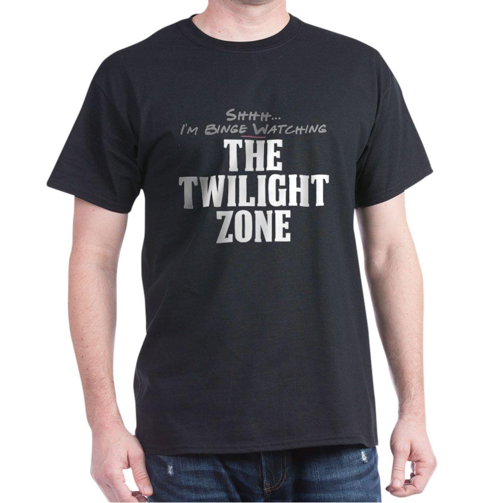 Shhh... I'm Binge Watching The Twilight Zone Dark T-Shirt