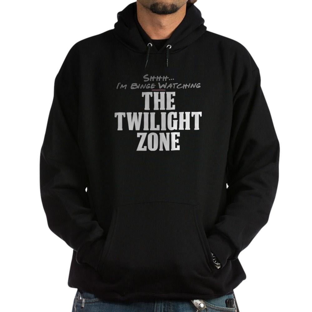 Shhh... I'm Binge Watching The Twilight Zone Dark Hoodie