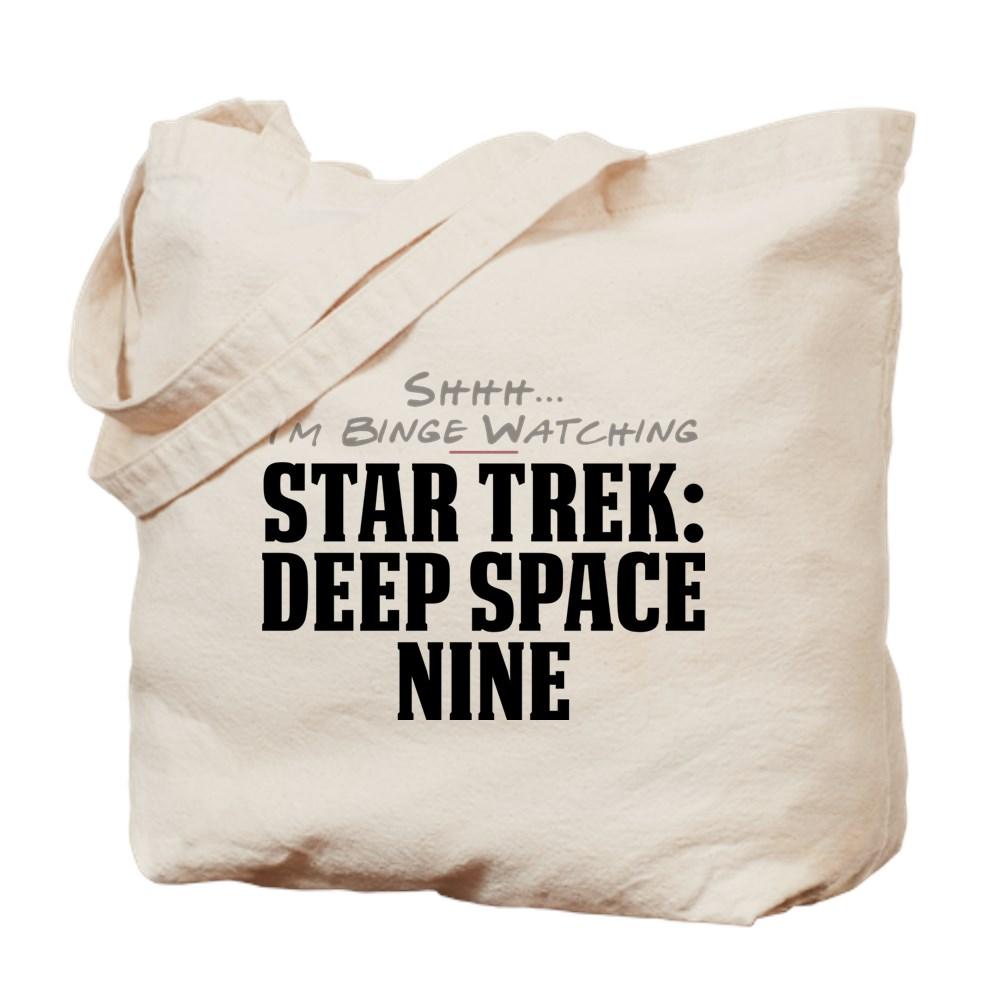 Shhh... I'm Binge Watching Star Trek: Deep Space Nine Tote Bag
