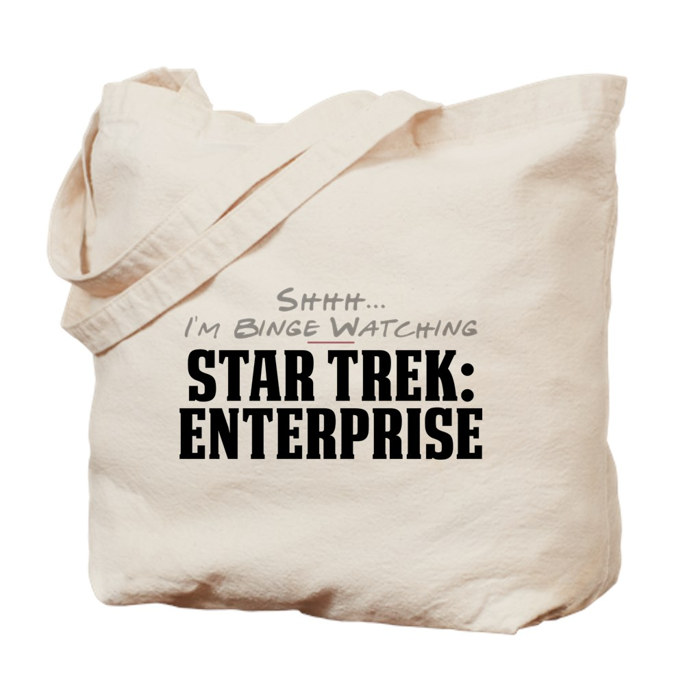 Shhh... I'm Binge Watching Star Trek: Enterprise Tote Bag