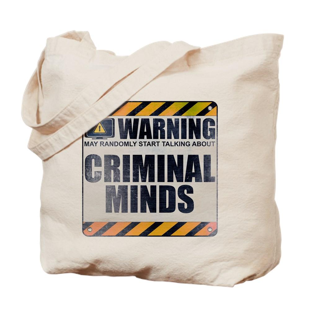 Warning: Criminal Minds Tote Bag