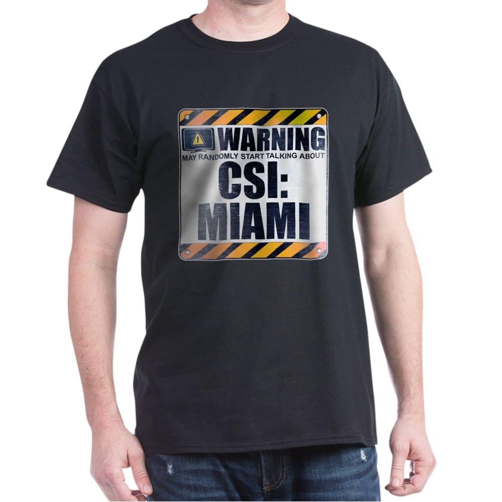 Warning: CSI: Miami Dark T-Shirt