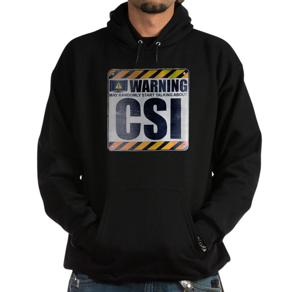 Warning: CSI Dark Hoodie