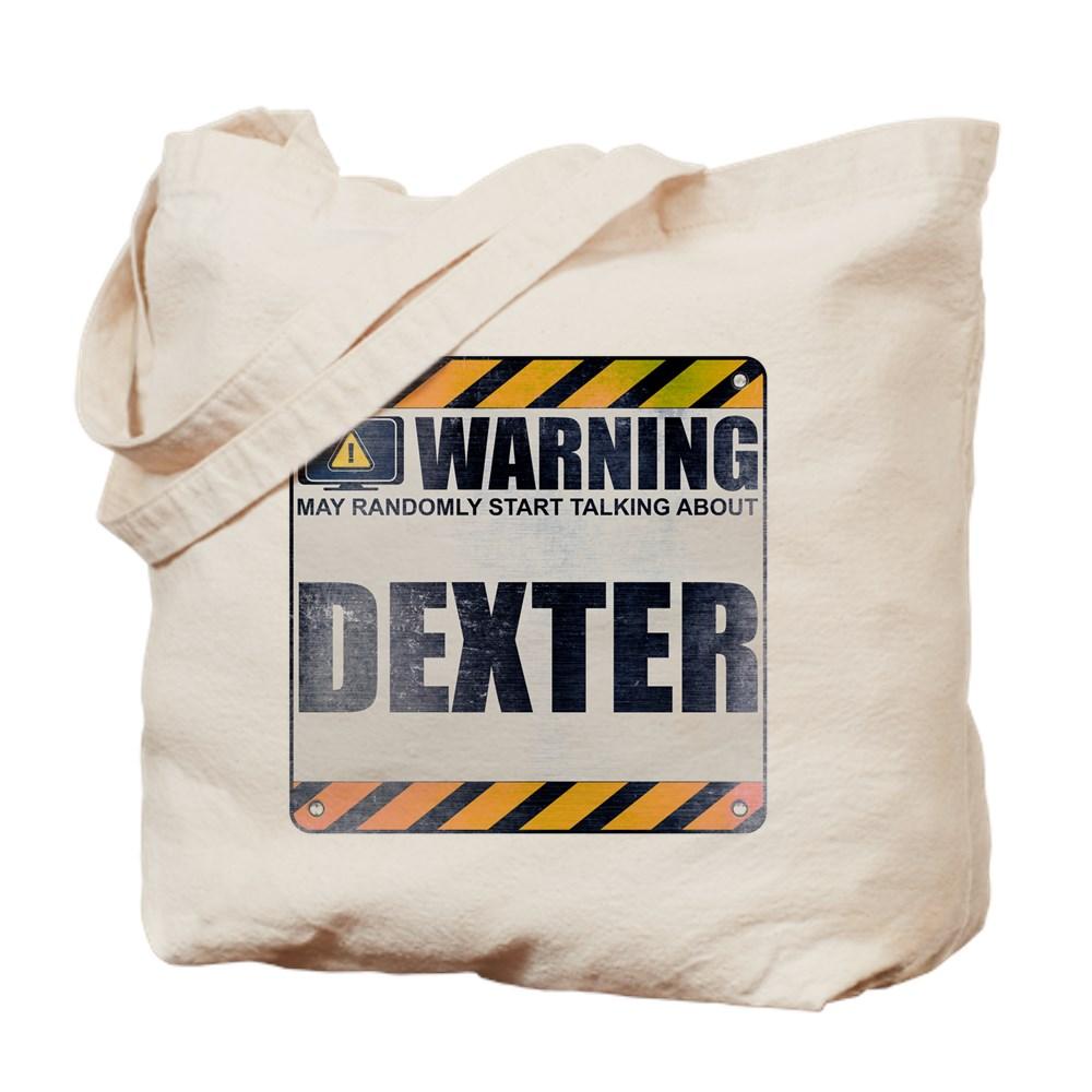 Warning: Dexter Tote Bag