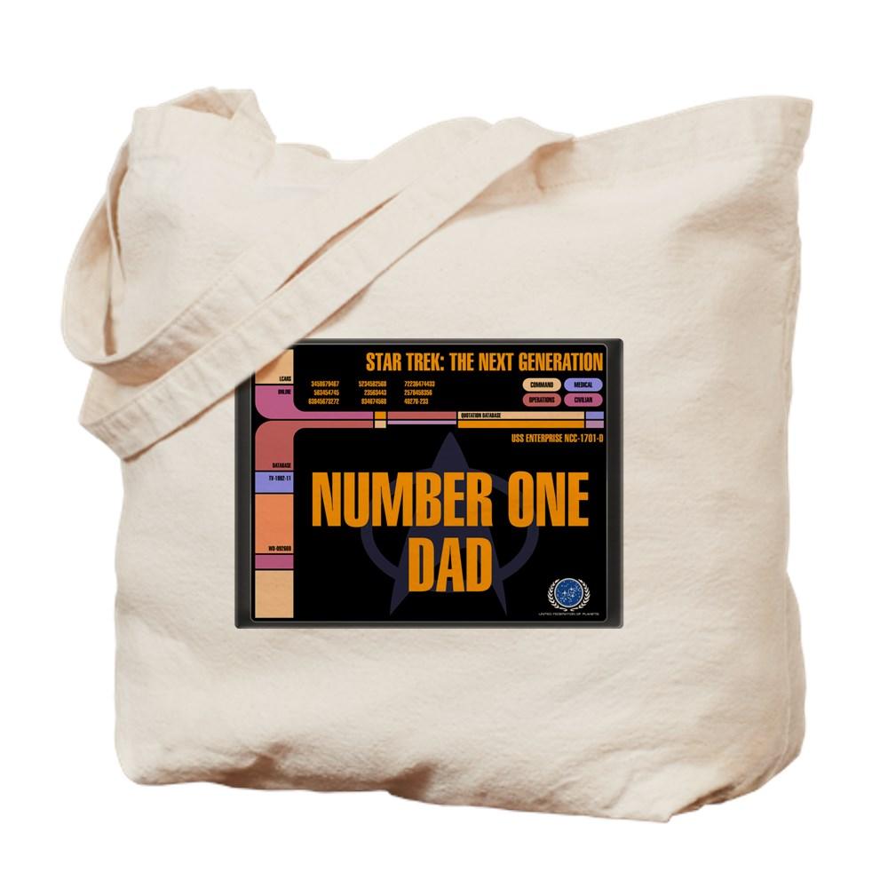 Number One Dad Tote Bag