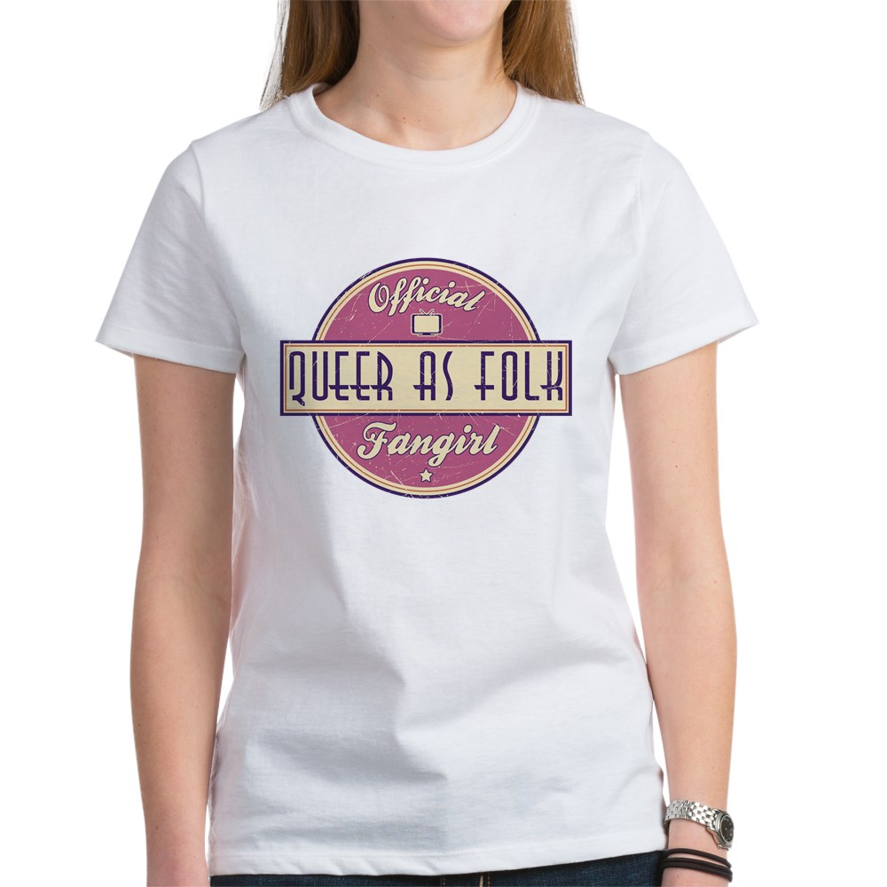 Offical Queer as Folk  Fangirl Women's T-Shirt