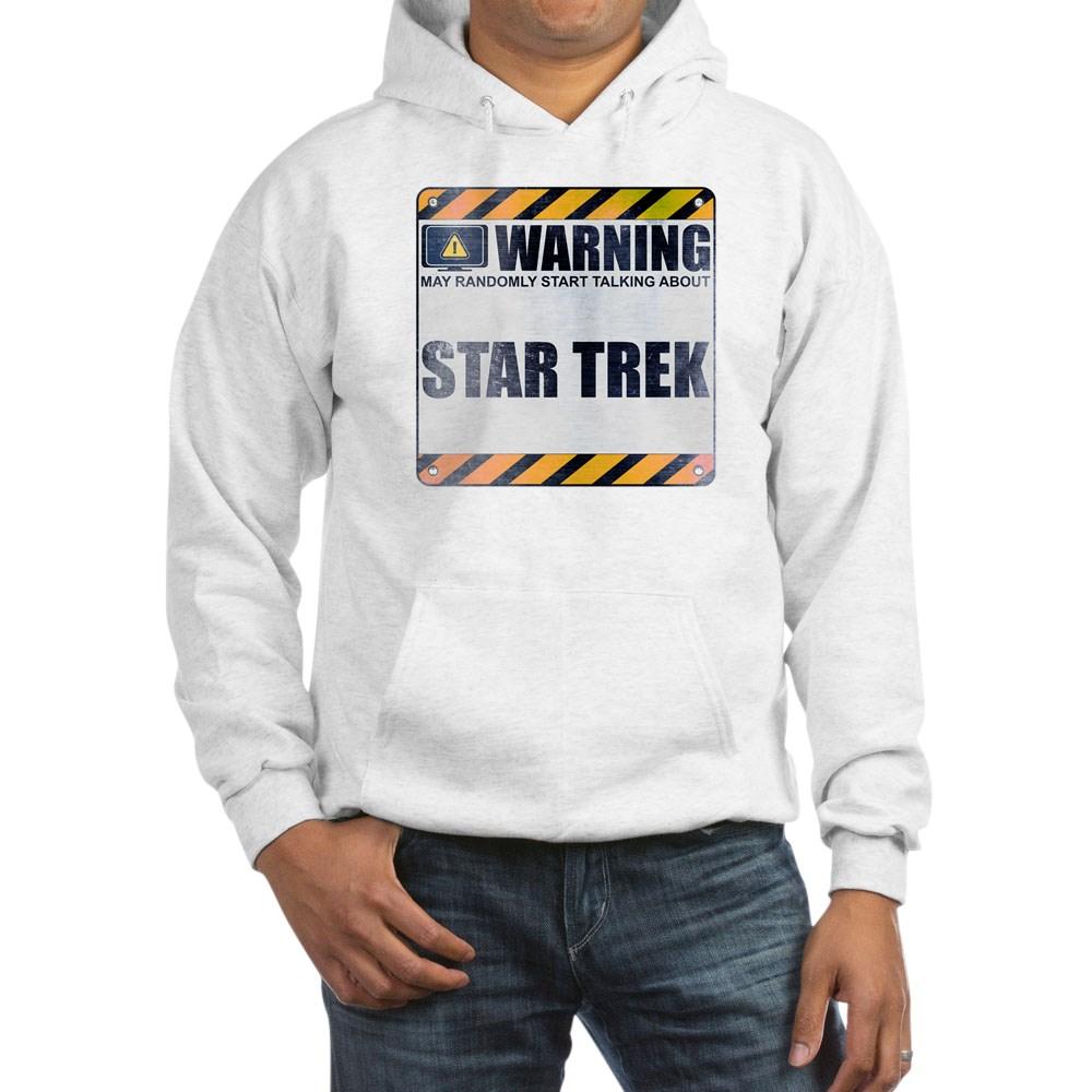 Warning: Star Trek Hooded Sweatshirt