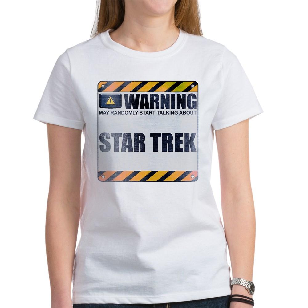 Warning: Star Trek Women's T-Shirt