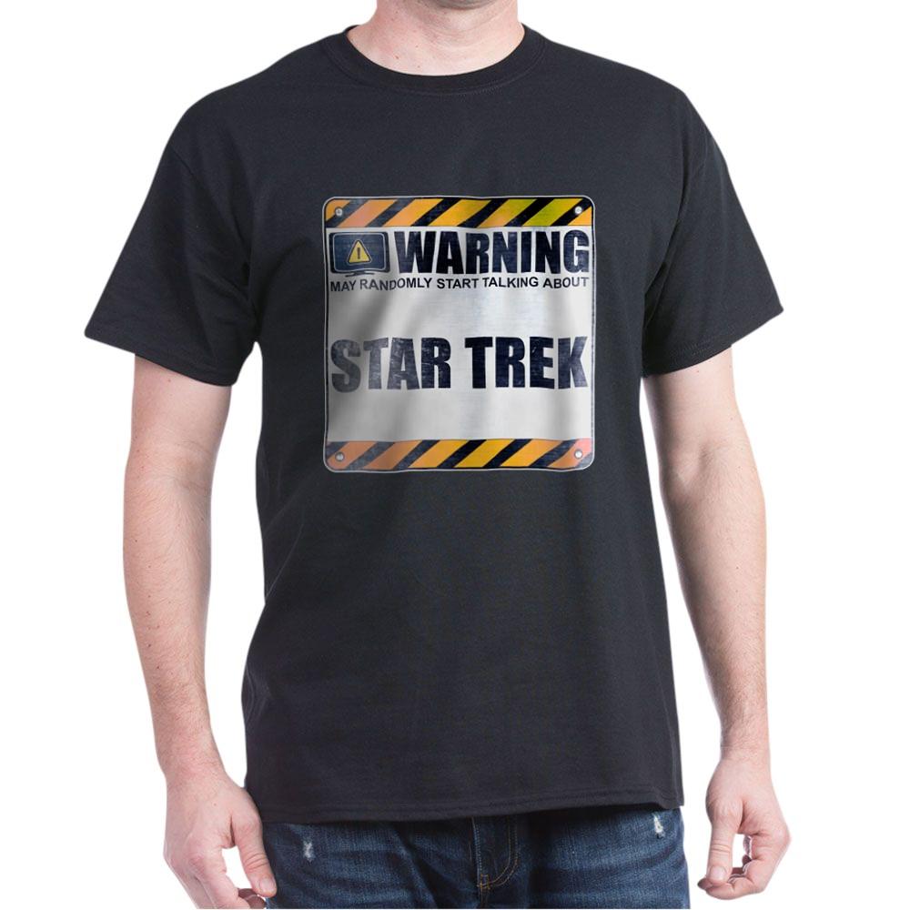 Warning: Star Trek Dark T-Shirt