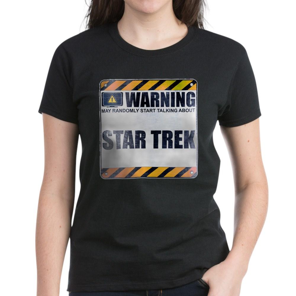 Warning: Star Trek Women's Dark T-Shirt