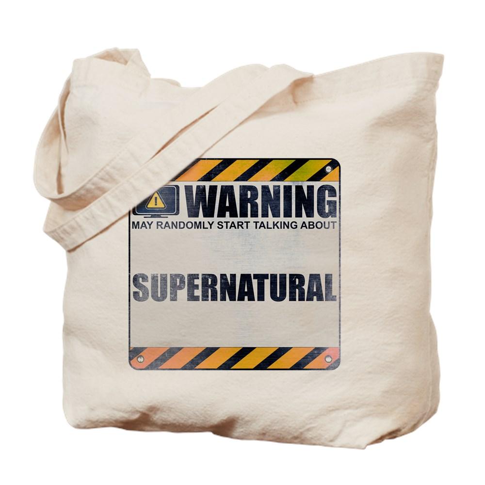 Warning: Supernatural Tote Bag
