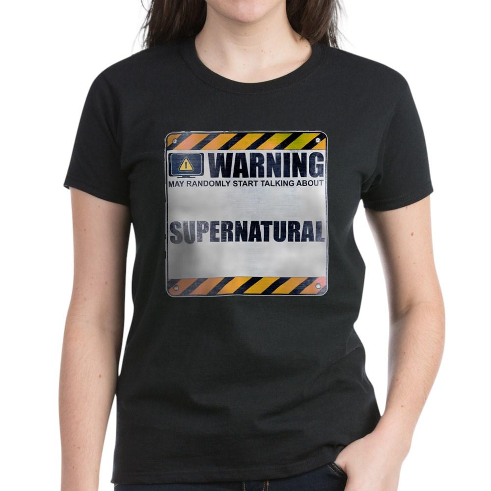 Warning: Supernatural Women's Dark T-Shirt