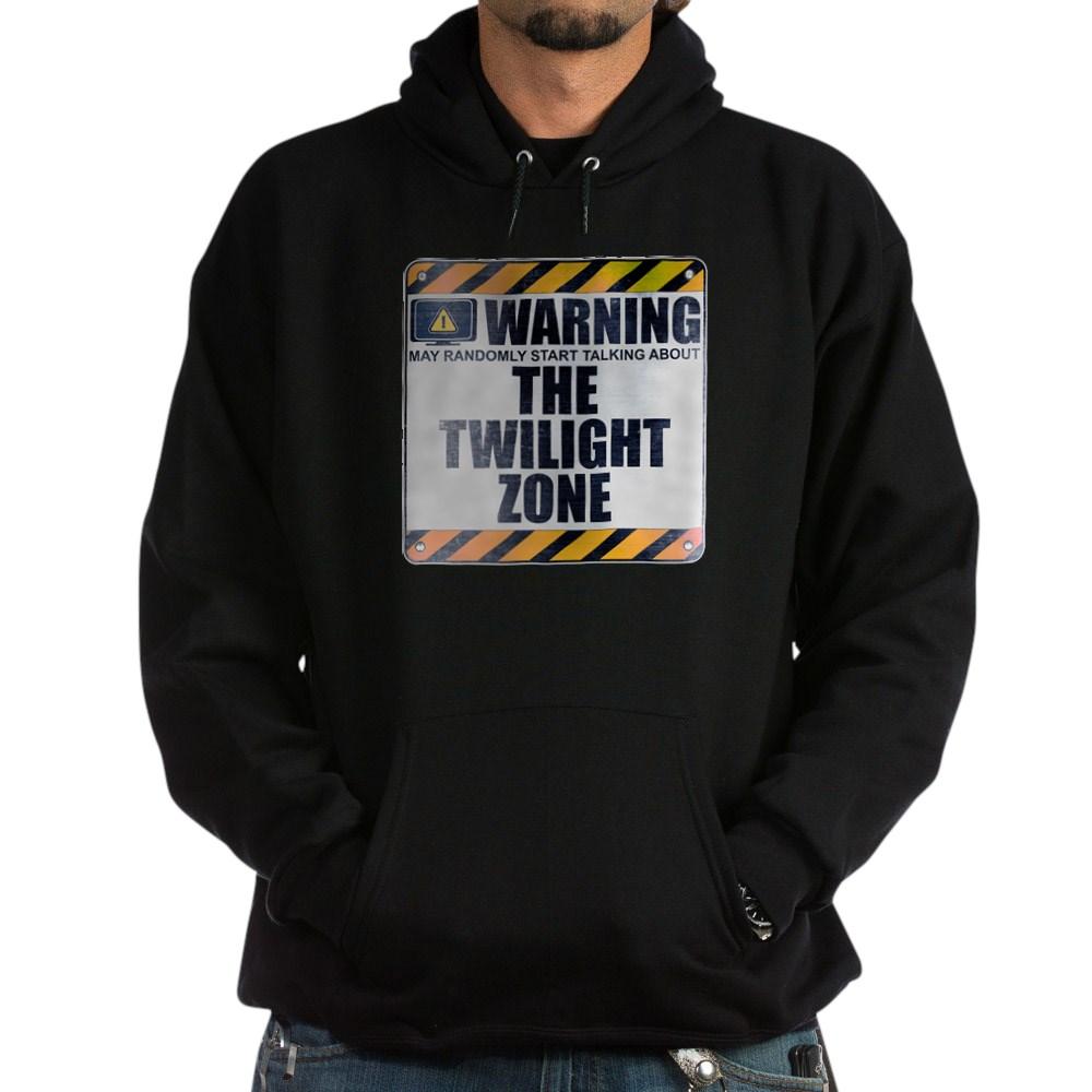 Warning: The Twilight Zone Dark Hoodie