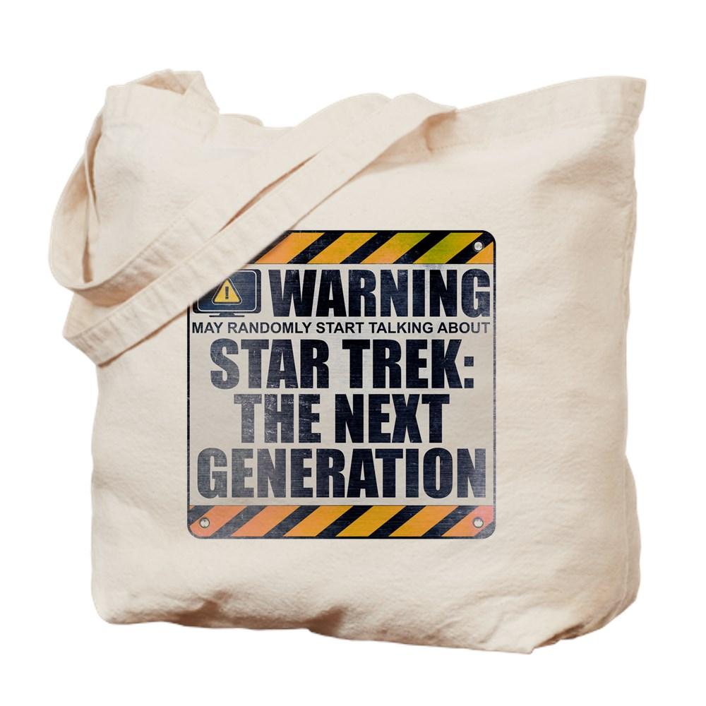 Warning: Star Trek: The Next Generation Tote Bag