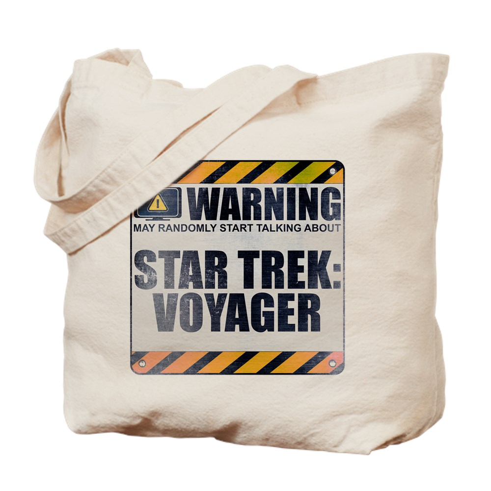Warning: Star Trek: Voyager Tote Bag