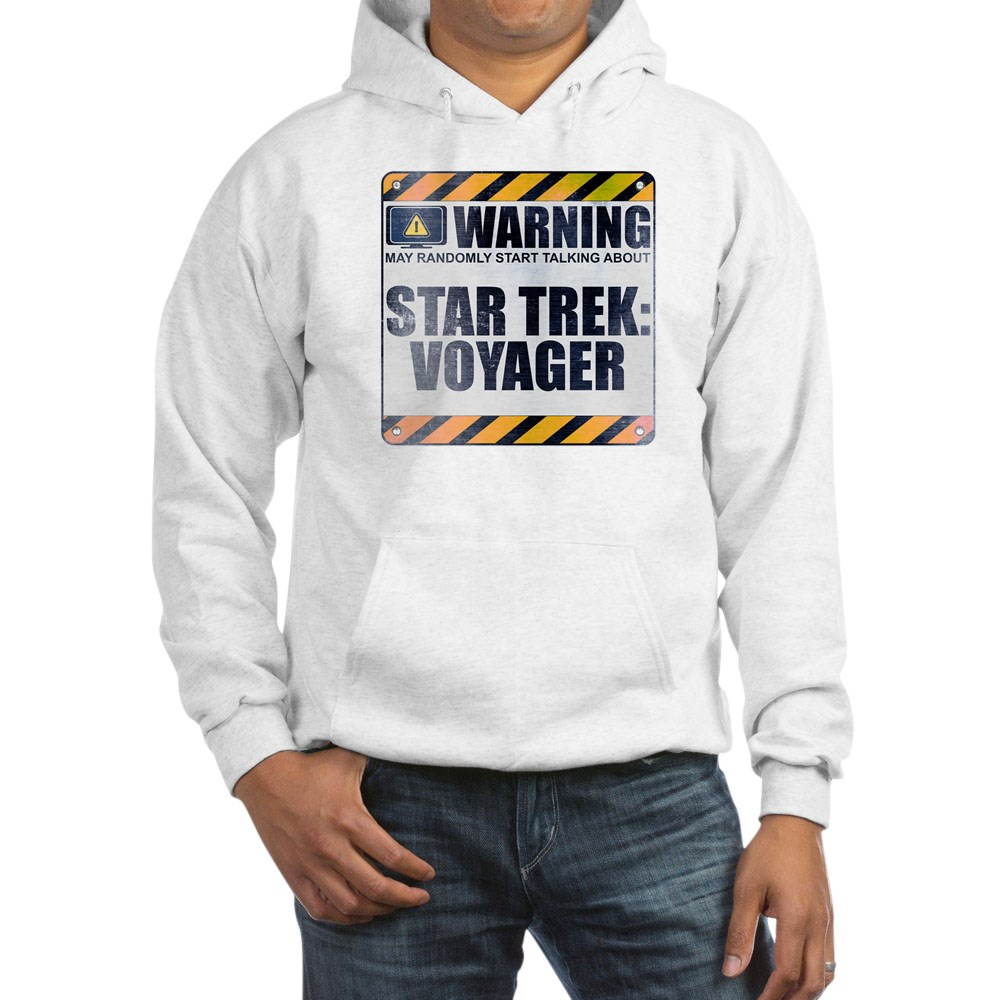 Warning: Star Trek: Voyager Hooded Sweatshirt