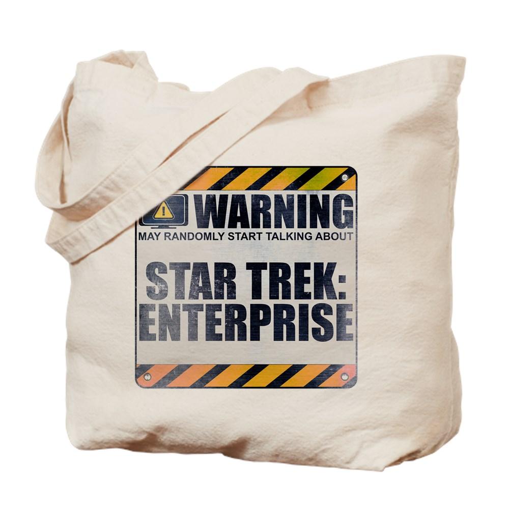 Warning: Star Trek: Enterprise Tote Bag