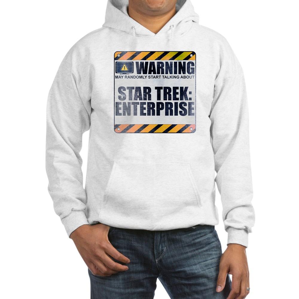 Warning: Star Trek: Enterprise Hooded Sweatshirt