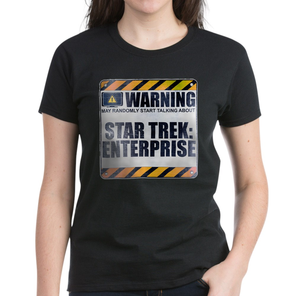 Warning: Star Trek: Enterprise Women's Dark T-Shirt