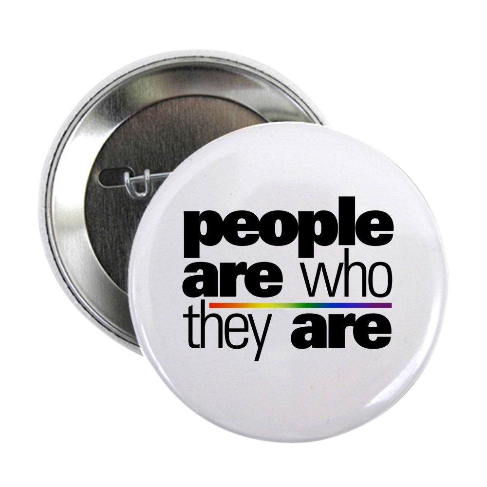 People Are Who They Are 2.25