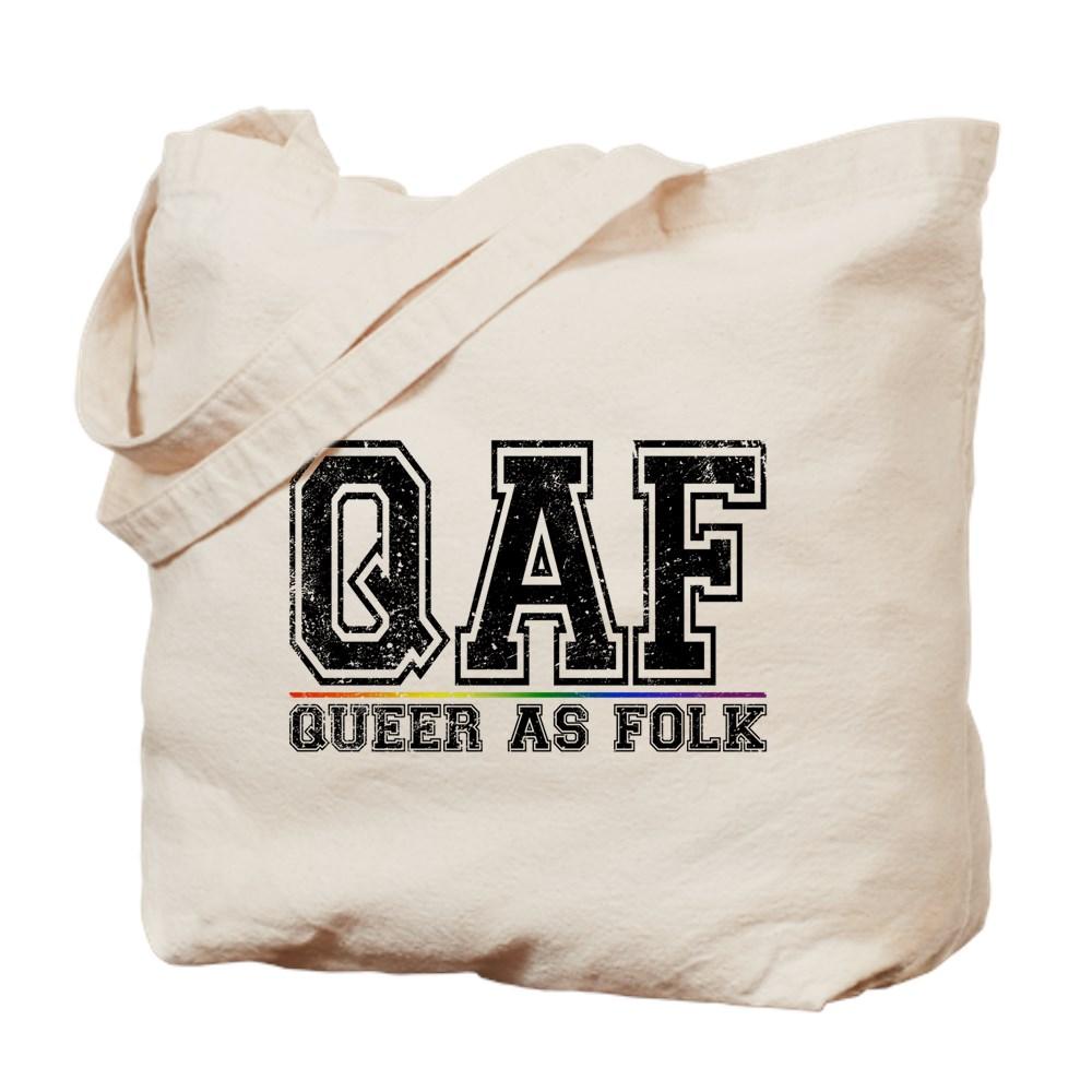 QAF Queer as Folk Tote Bag