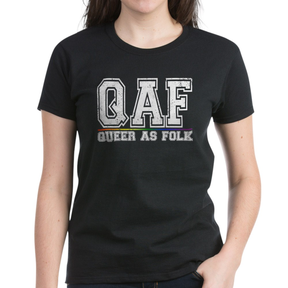 QAF Queer as Folk Women's Dark T-Shirt