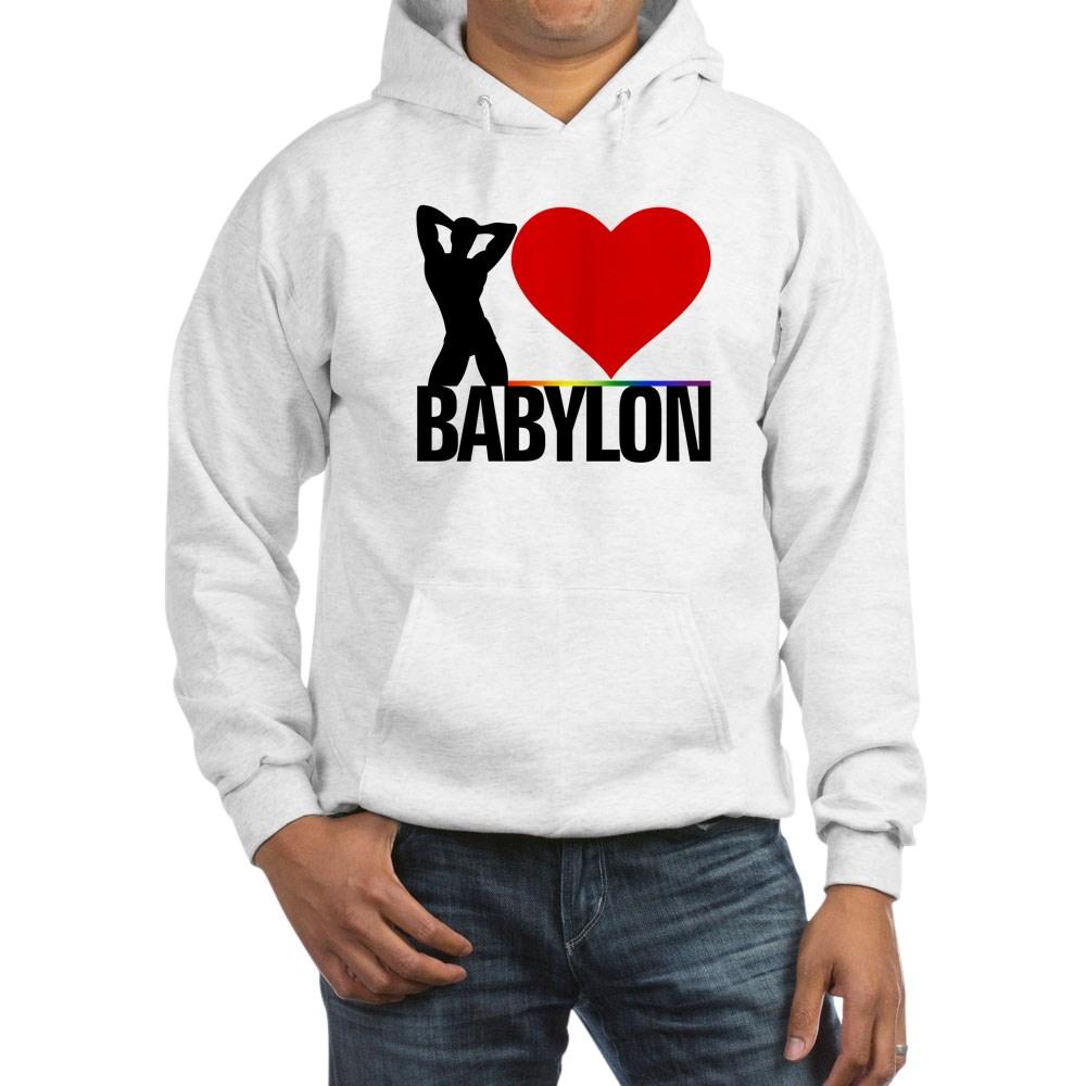 I Heart Babylon Hooded Sweatshirt