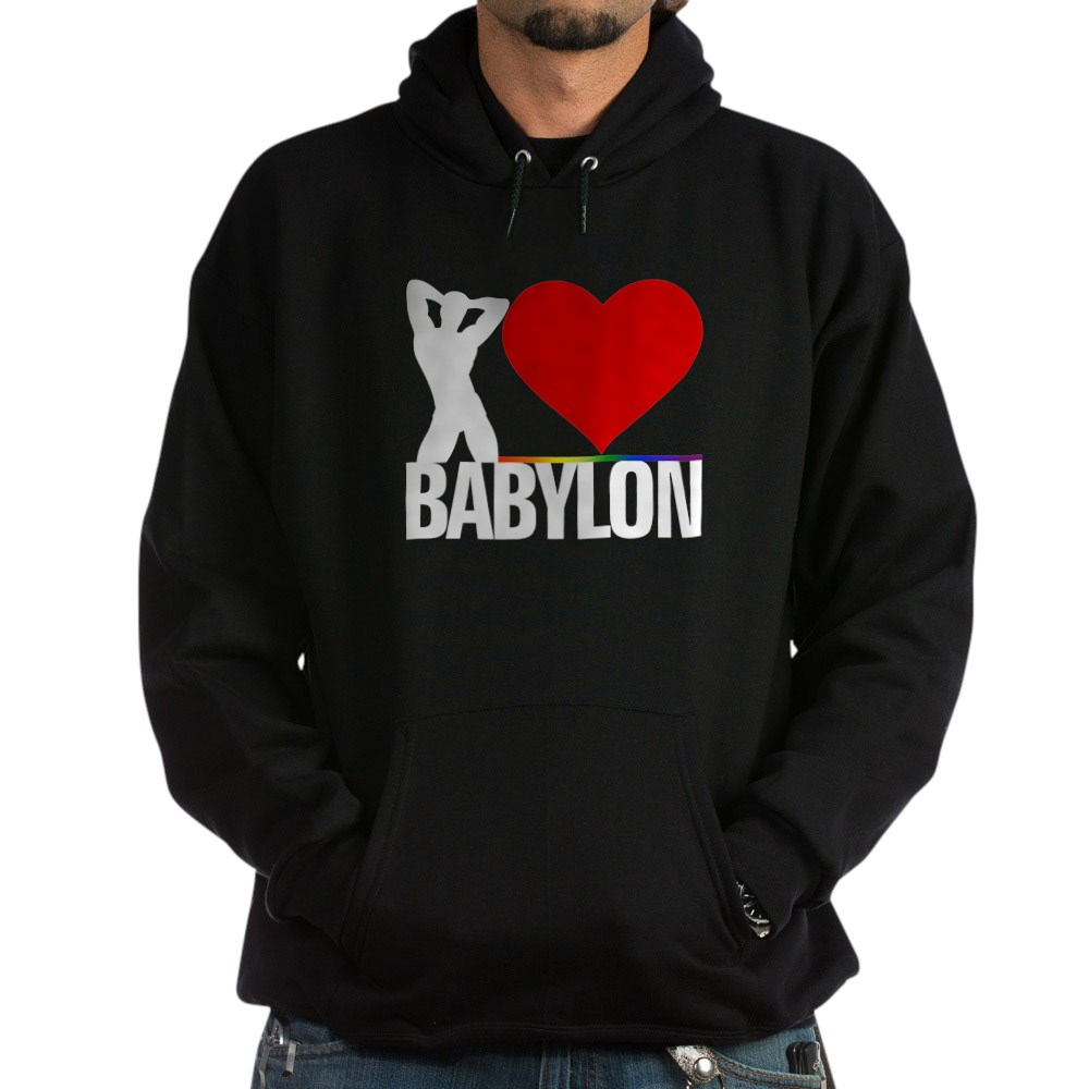 I Heart Babylon Dark Hoodie