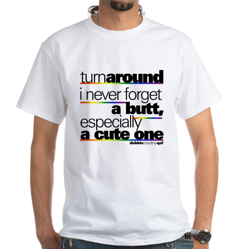 Turn Around... White T-Shirt