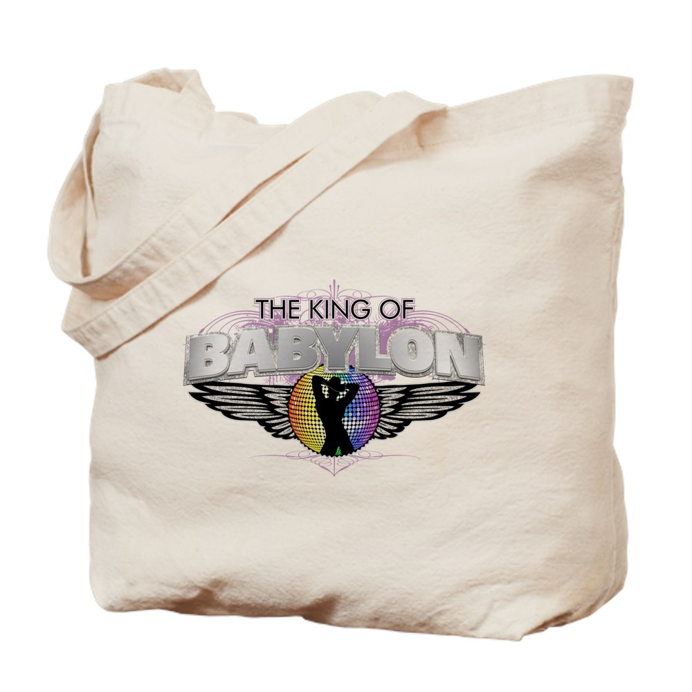 Cowboy King of Babylon Tote Bag