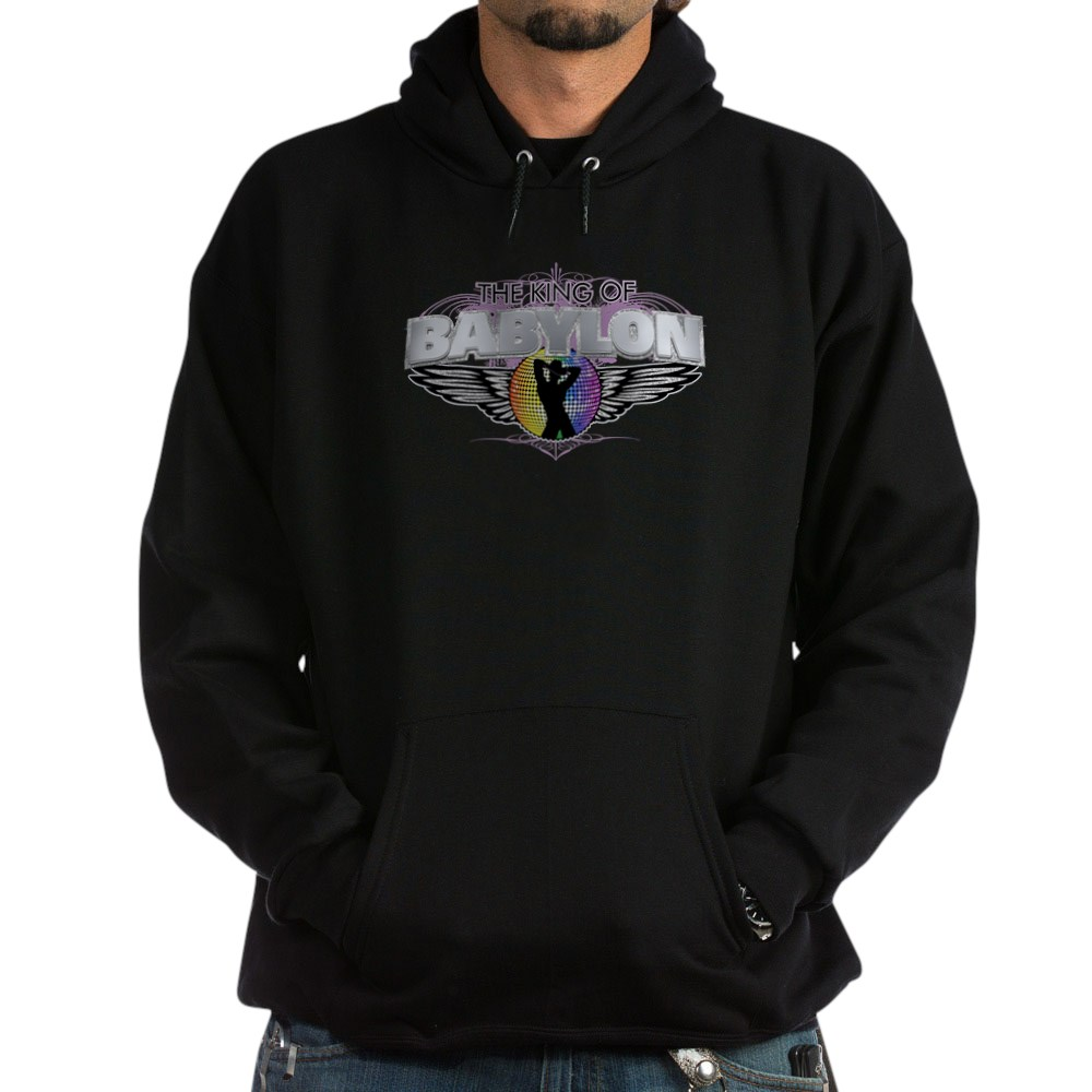 Cowboy King of Babylon Dark Hoodie