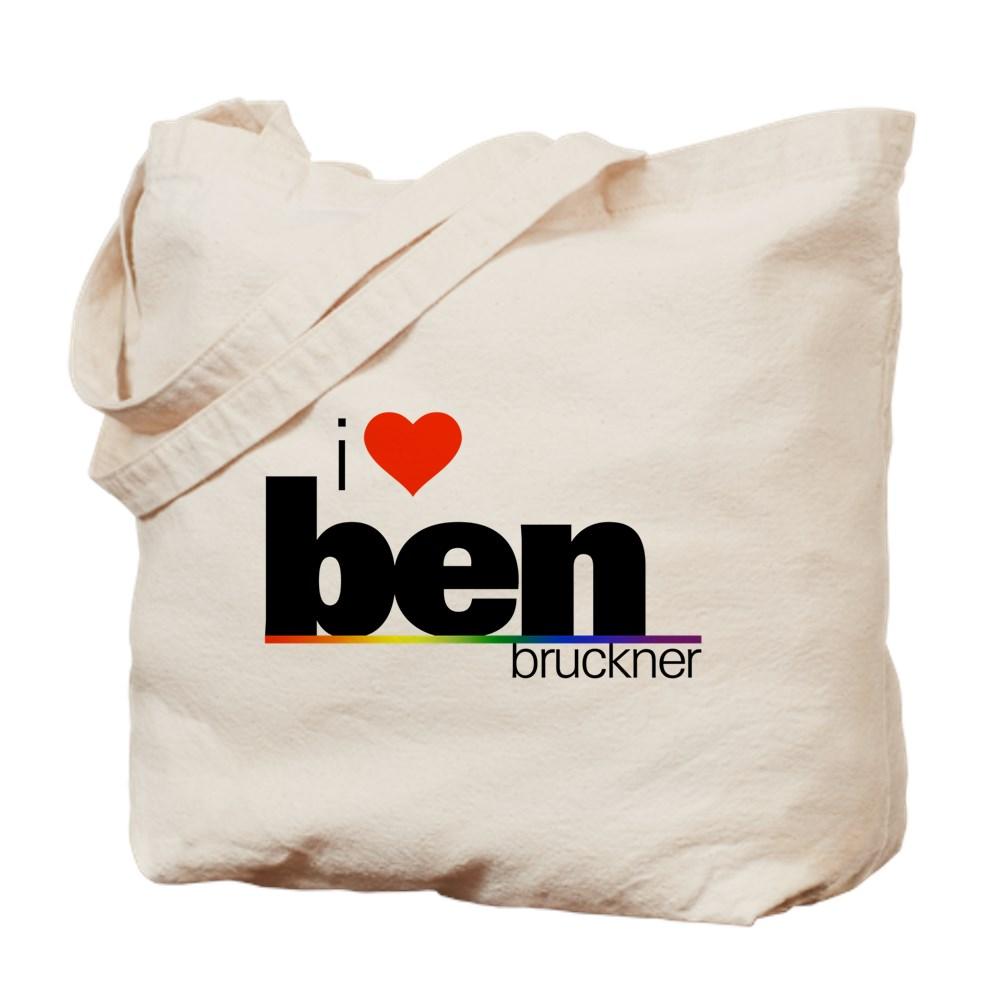 I Heart Ben Bruckner Tote Bag