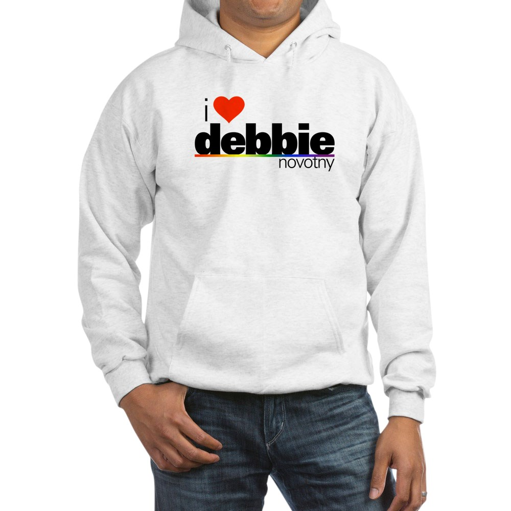 I Heart Debbie Novotny Hooded Sweatshirt