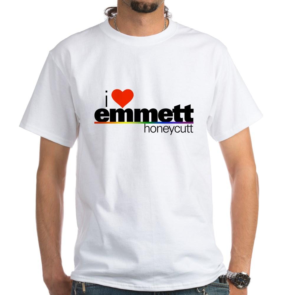 I Heart Emmett Honeycutt White T-Shirt