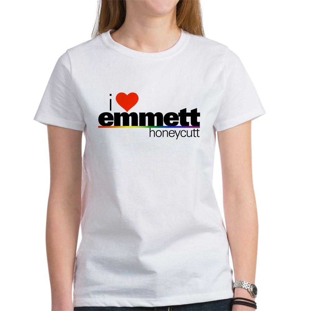 I Heart Emmett Honeycutt Women's T-Shirt